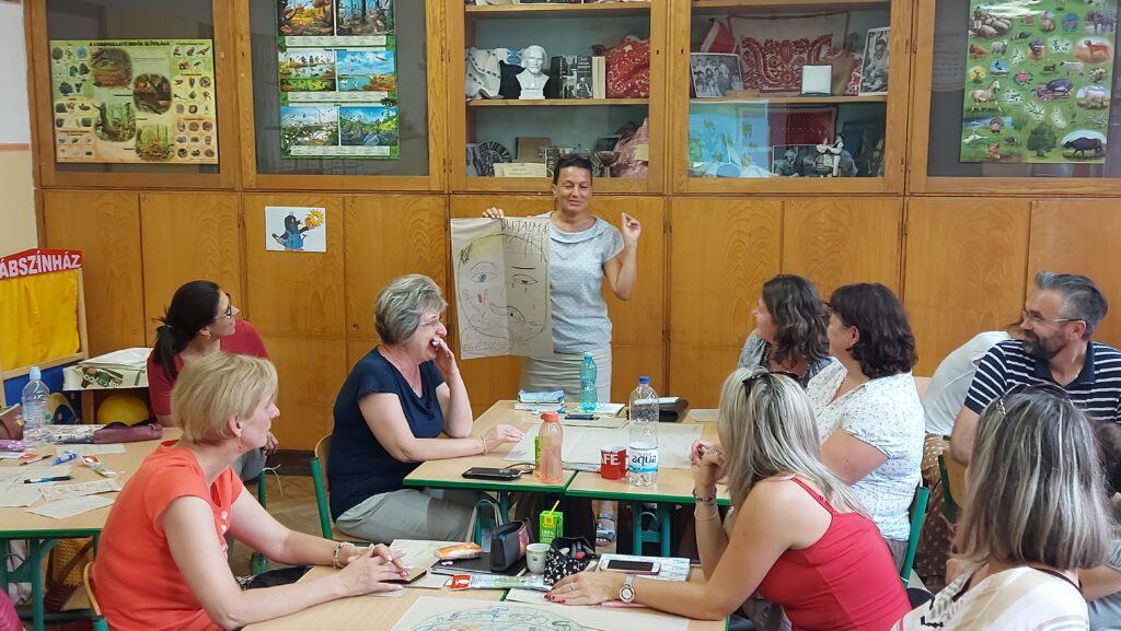 Projectpedagógia a váci Karolina Katolikus Általános Iskola tanáraival